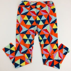 LuLaRoe Leggings Tall & Curvy Color Design Pattern